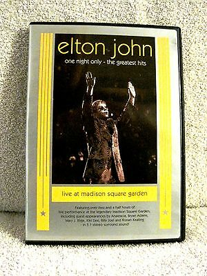 Elton John - One Night Only - The Greatest Hits - Concert Dvd - Great Gift Item!