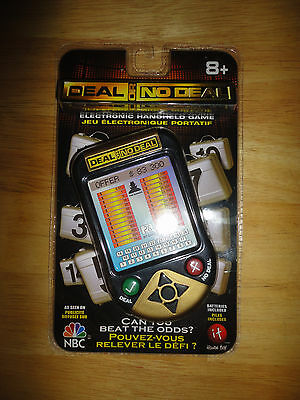2006 Irwin Toys DEAL OR NO DEAL Handheld Electronic Game *NEW* Alternate Package
