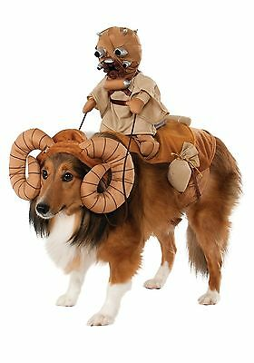 Star War Tuscan Raider Sand People On Bantha Ride Dog Costume