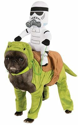 Star War Stormtrooper / Sandtrooper Dewback Ride Dog Costume