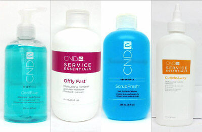 Cool Blue, CuticleAway, Scrubfresh, Offly Fast 8oz - Cnd - Pick any kind