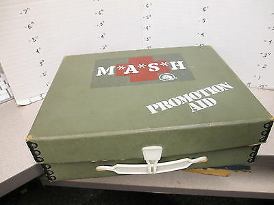TV photo 1979 MASH syndication promo kit doctor medical bag Alan Alda 7 seasons