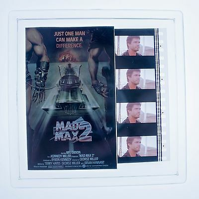 Mad Max 2 - 35mm Film Cell Coaster, NOT Display, Key Ring, Key Chain