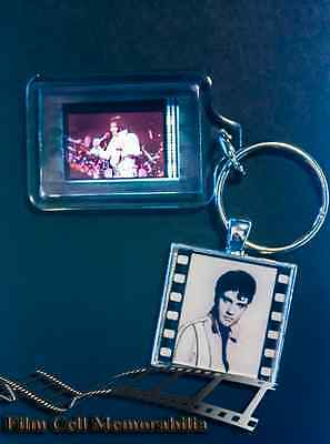 Elvis - 35mm Film Cell Movie KeyRing and Pendant Keyfob Gift