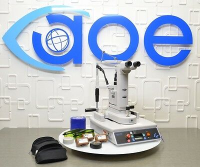 Laserex Ellex LQP3106 Ophthalmic YAG Laser System with Manual