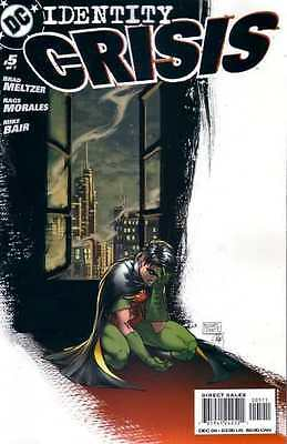Identity Crisis #5 in Near Mint condition. FREE bag/board