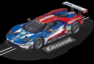 Carrera 27533 Ford Gt #68 New Evolution 1/32 Slot Car In Display Case