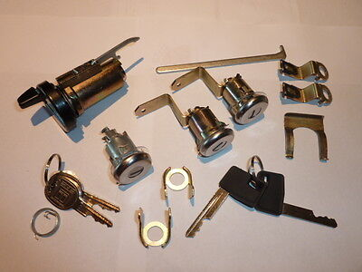 Holden Hz -Wb / Torana Uc / Ignition Barrel Keys And Door Locks & Boot Kit.