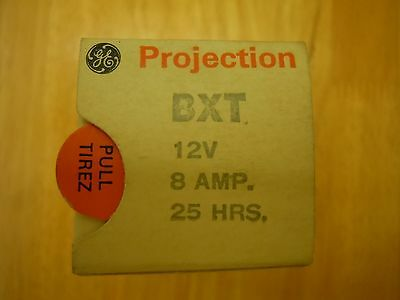 BXT Projection Lamp Bulb Studio Projector 12V 100W NOS New Old Stock NIB