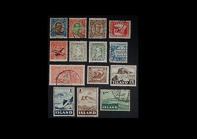 Iceland Stamps Used #SB122
