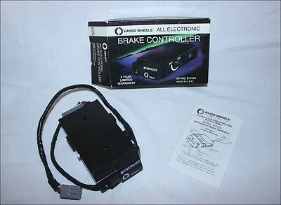 Kelsey Brake Controller 2 & 4 Wheel Trailer Systems All Electronic #81741A