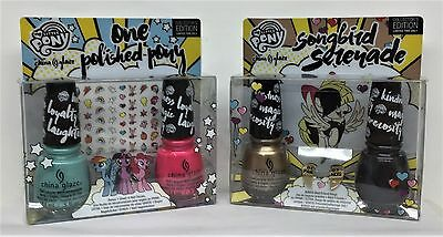 LIMITED China Glaze Nail Lacquer - MY LITTLE PONY - Special DUOS - Pick Color