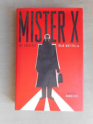 Warren Ellis Mister X Hard Cover The Archives Vo Neuf/ Mint