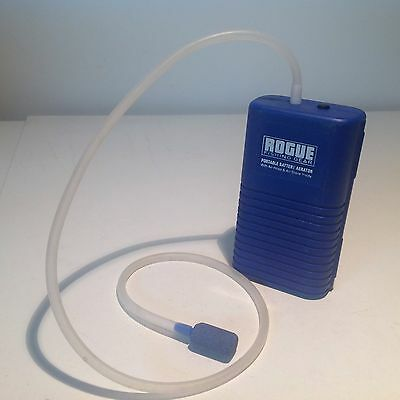 Rouge Portable Battery Agetator With Air Hose
