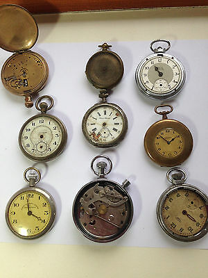 Vintage pocket watches for spares