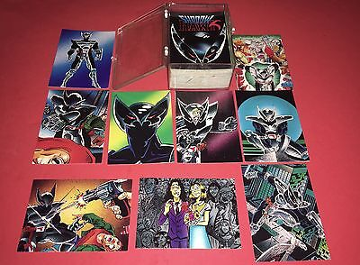 1992 Shadow Hawk 90 Card Trading Set By Comic Images Nr/Mt-Mt