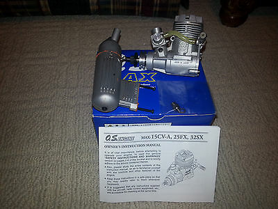 Lightly used O.S. .32SX model airplane engine - OS 32 SX