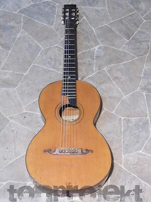 TOP RARE Ludwig MAYER all solid PARLOR GUITAR Gitarre guitare Germany ~1930