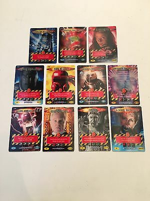 Doctor Who Battles In Time - 11 X Ultra Rare Cards **