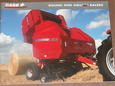 Case International Round and Square  Sales Brochure