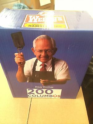 Columbus Clippers 200 BiCentennial  SGA Wendy's Dave Thomas Bobblehead -NEW!
