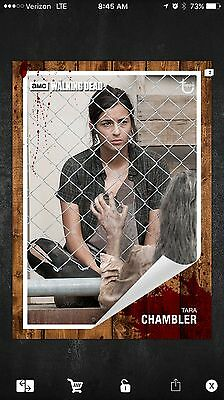 Topps The Walking Dead Card Trader Tara Classic Insert Card