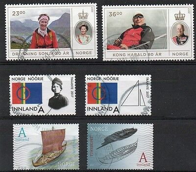 NORWEGIAN : 2017   Fine Used Sets ( THREE SET'S )