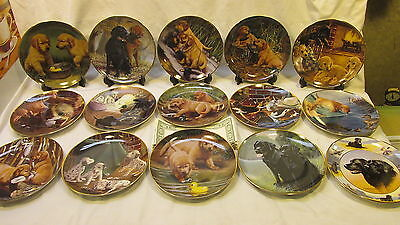 Set Of 15 Dog Collector's Plates The Franklin Mint Heirloom Recommendation