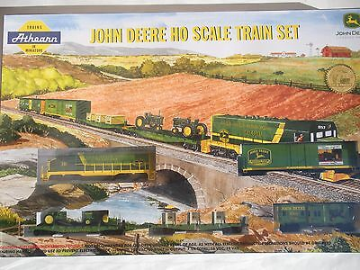 Athearn 2003 John Deere Train Set - Complete and New in Box