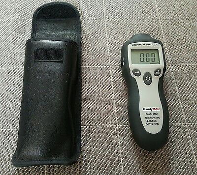 Microwave Leakage Detector with leather case