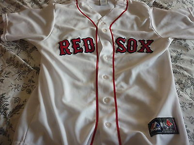 Boston Red Sox Home Jersey Shirt Genuine Product Size Medium Fenway Park