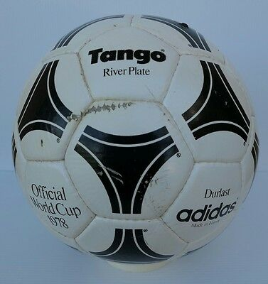 Original France Adidas Durlast Tango River Plate Official World Cup 78 Argentina