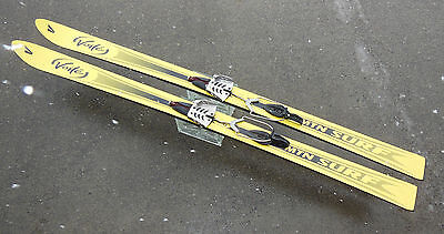 VOILE' MTN SURF TELEMARK SKIS 165cm w/ BCD USA CABLE-SPRING BINDINGS, FREE HEEL