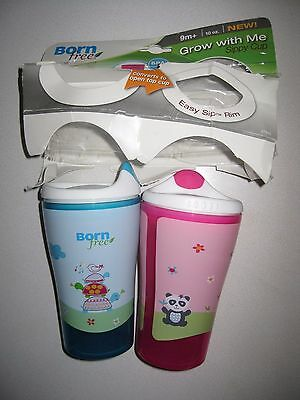 Born Free BPA-Free Grow with Me Cup, 2 Count -  Multiple Variations