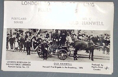 London Borough of Ealing Public Libraries Postcard Set C (5 cards) 'Old Hanwell'