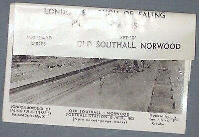 London Borough of Ealing Public Libraries Postcard Set D (5 cards) Old Southall