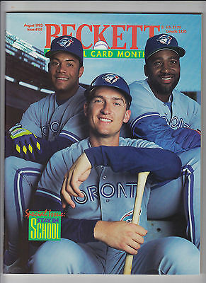Lot 21: Beckett Baseball Monthly Price Guides- All NM/Mint