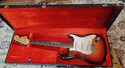 1974 Fender Stratocaster--Hardtail-Rosewood Neck--Original Case