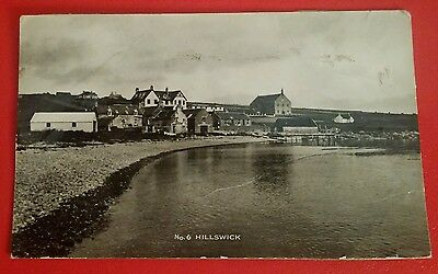 (B) HILLSWICK, SHETLAND ( REAL PICTURE) - Early 196O's.