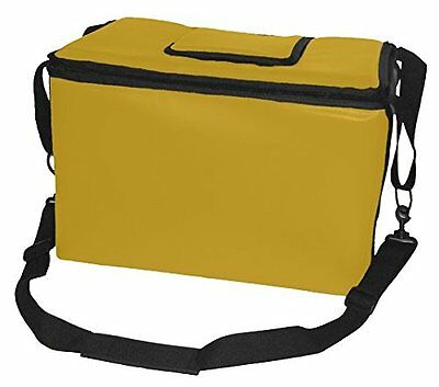TCB Insulated Bags HWK-1D-Yellow Food and Beverage Carriers Hawking Vending Bag