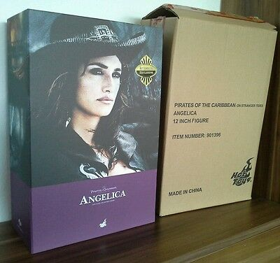 Pirates of the Caribbean Angelica 1:6 Scale Movie Masterpiece Hot Toys Sideshow