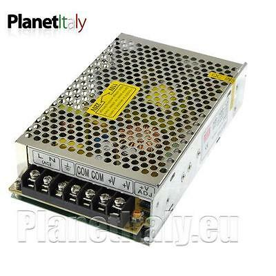 Power supply transformer professional for LED 12Vdc 220V 12 volts 150W 12, 5A