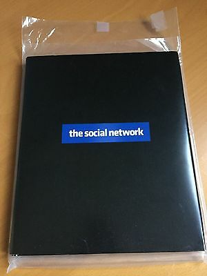 The Social Network Script Signed/Autographed by Aaron Sorkin