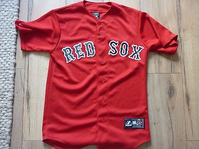 Boston Red Sox Road Away Jersey Shirt Genuine Product Size Small Fenway Park