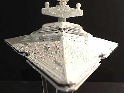 Revell Star Wars Imperial Star Destroyer Plastic Model Kit  Rogue One Customized