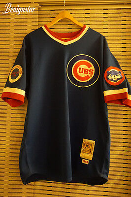 Mitchell & Ness Ryne Sandberg 1984 Chicago Cubs Road Baseball Jersey