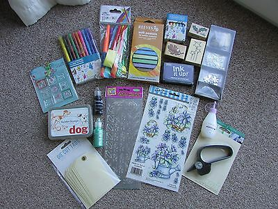 Job Lot Of Craft/Card Making Items - New & Used