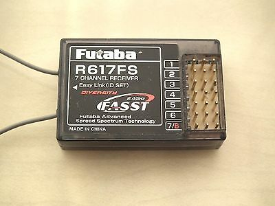 Futaba R617Fs 7 Channel 2.4Ghz Fasst Receiver In Perfect Condition Working Order