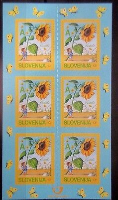 Slovenia 2005 Greetings Stamps.Self Adhesive in Sheet of 6. MNH.