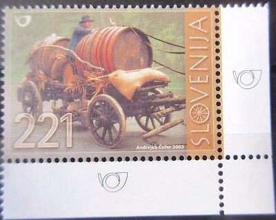 Slovenia 2003 Road Transport. MNH.